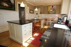 wainscoting ceiling kitchen - Google Search
