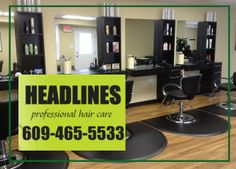 Headlines Professional Hair Care in Cape May Court House, NJ sent us some beautiful shears last week.  Sent them back with the #EdgeYouDeserve for your next haircut. :D