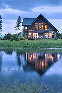 Big Fork Montana Cabin