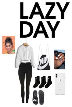 Lazy Day by tatianaalcaraz on Polyvore featuring Topshop, NIKE, Rebecca Minkoff and Coleman