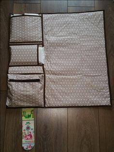 Nastja von DIY Eule hat heute eine besonders praktische Nähanleitung für alle jungen Mütter: eine Wickeltasche mit Wickelunterlage und drei praktischen Fächern. Natürlich eignet sich die Tasche auch super als Geschenk zu Geburt.