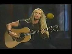Zakk Wylde As dead as yesterday (Acoustic)--I effin love Zakk Wylde, his voice just blows me away, his picks on the guitar drive me wild<3 and with his hair, he is...........mmmmm (this album, Book of Shadows is excellent)