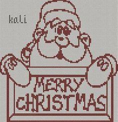 """Christmas - Grid """"Merry ... - Grid (Angel"""" (2) - Grid """"Angel"""" - Grid """"crown ... - Merry Christmas Grille - Grille Christmas !! - The blog of kali"""
