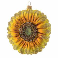 Sonnenblume mundgeblasenen Glas für Tannenbaum | Online Verfauf auf HOLYART