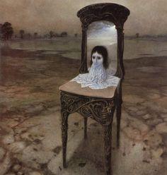 Zdzisław Beksińskifoi um renomadopintor,fotógrafoeartista fantásticopolonês.   Beksiński produzia suas pinturas e desenhos em um esti...