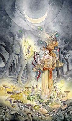 Shadowscapes Tarot - 18 The Moon