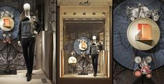 Hermès shop displays by Tim John Fall 2013, Germany » Retail Design Blog