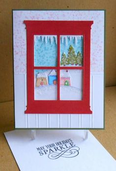 VSNDEC14O baby it's cold outside by tessaduck - Cards and Paper Crafts at Splitcoaststampers              Use stamping up houses