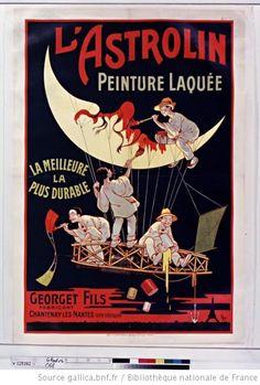 L'Astrolin peinture laquée, la meilleure, la plus durable : Georget fils fabriquant... : [1900 Eugène OGÉ  (1861-1936)