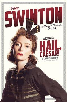 Hail Caesar Tilda Swinton Poster
