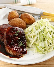 """This recipe for Braised Pork Chops is from """"Southern Country Cooking from the Loveless Cafe,"""" by Jane and Michael Stern. Try serving this with hush puppies and sour slaw."""