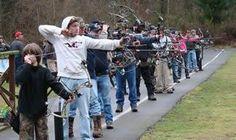Great Northwest 3D Fun Archery Shoot Puyallup, WA #Kids #Events