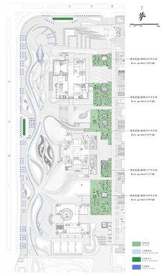 Landscape of Jining Cultural Center Phase I by LDG Sponge City, Cultural Center, Design Language, Culture, Landscape, Stitching, Organic, Art, Costura