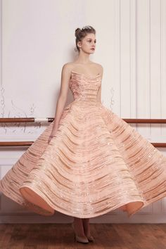 Saiid Kobeisy - S/S 2017 Couture Collection - WedLuxe Magazine Coco Chanel Dresses, Saiid Kobeisy, Blush Gown, Evening Dresses, Formal Dresses, Pink Dresses, Wedding Dresses, Party Dresses For Women, Couture Collection