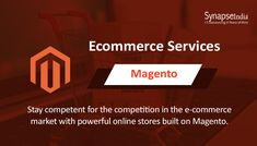 SynapseIndia is a Magento development company with certified Magento developers. Offers Magento customization, Magento design, Magento development and migration services. Hire our skilled Magento developers. Magento Design, Party Online, Ecommerce Solutions, Third Party, Competition, Marketing, Watch, Business, Youtube
