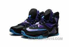 67badb72a663 Discover the For Sale Nike Lebron 13 Women Custom Black Purple collection  at Footseek. Shop For Sale Nike Lebron 13 Women Custom Black Purple black