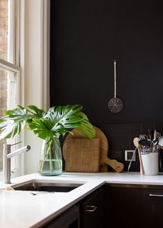 Black is the New Black: 8 Deliciously Dark Kitchens