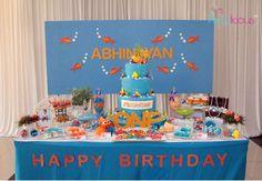 Nemo & Friends Birthday Party Ideas | Photo 1 of 30 | Catch My Party