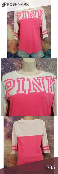 Victoria's Secret PINK T-shirt Vs Pink Size XS never worn PINK Victoria's Secret Tops Tees - Short Sleeve