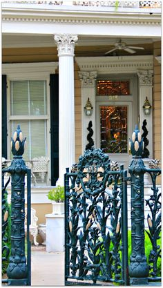 Cornstalk Fence Hotel in the French Quarter of New Orleans