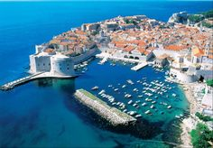 Dubrovnik is an amazingly intact walled city on the Adriatic Sea coast in the south of Croatia. Discover the best attractions and things to do in Dubrovnik. Honeymoon Destinations, Amazing Destinations, Holiday Destinations, Honeymoon Cruise, Honeymoon Packages, Europe Destinations, Vacation Packages, Cruise Vacation, Vacation Rentals