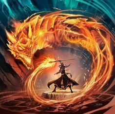 Dragon's Breath by el-grimlock