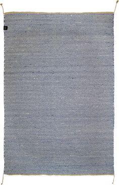 Matta Herringbone, Classic Collection, 200x300cm, Blå