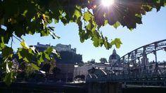 Eine wundervolle Stadt in ihrer herbstlichen Schönheit!  Salzburg - place to be.  #beautifulseason #beautifulcity #GS