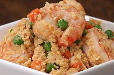 """Skip That Greasy Take-Out Dinner And Make This Healthy Cauliflower """"Fried Rice"""" Instead"""