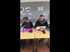 Leerlingen TKO op uitwisseling in Gronau (D) werkten daar onder andere over genderverschillen in de klas. | #volwassenenonderwijs #TKO #CVOVOLT gender #gender