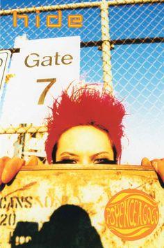Hideto Matsumoto (hide X Japan) =Life Of A Shooting Star =: PSYENCE A GO GO postcard collection In 1996 duri...