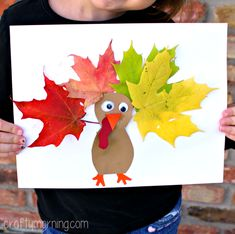 19 Thanksgiving and Fall Crafts (for kids)