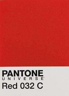 Color of the Season. Pantone Red