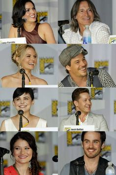 The Once Upon A Time Cast at the 2013 San Diego Comic Con - July 20 - Lana Parrilla, Robert Carlyle, Jennifer Morrison, Michael Raymond-James, Ginny Goodwin, Josh Dallas, Emilie De Ravin & Colin O'Donoghue