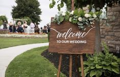 Blooms Florist, Welcome To Our Wedding, Weddings, Photo And Video, Floral, Outdoor Decor, Instagram, Florals, Mariage