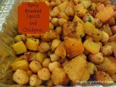Indian Twist on Roasted Butternut Squash Recipe via thefrugalette.com