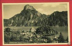 Traunkirchen Vintage Austria Postcard