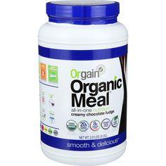 Orgain Organic Meal Powder - Creamy Chocolate Fudge - 2.01 Lb