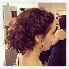 Grad/wedding hair by Alora