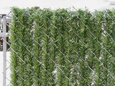 Inexpensive Chain Link Fence Privacy Slats ~ http://lanewstalk.com/inexpensive-privacy-fence-ideas/