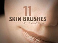 74 Useful Skin Texture Photoshop Brushes | Best Design Options