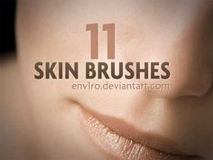 74 Useful Skin Texture Photoshop Brushes | Best Design Options