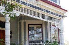 Vintage porch parts victorian porch columns and vintage for Exterior victorian house parts