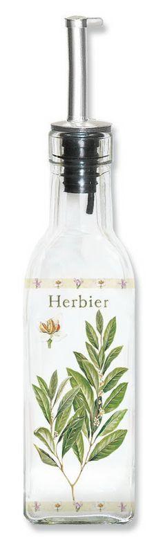 Pojemnik olej/ocet z dozownikiem NUOVA R2S - DECO Salon #container #kitchenaccessories #herbs #spices #oil #olive