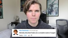 #ProudToBe Hate Comments