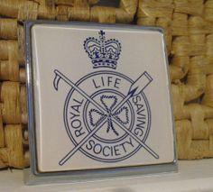 """1960s""""Royal Life Saving Society""""Car Badge,Grill Badge,Lifeguards,RNLI,Navy, NOS"""