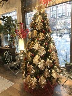 Christmas Tree Lane And Lenge Florist At The Delamar Hotel Wedding Flowers, Christmas Tree, Holiday Decor, Home Decor, Teal Christmas Tree, Decoration Home, Room Decor, Xmas Trees, Christmas Trees