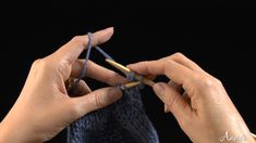 Binding Off (knit): Learn how to bind off with this free video from AnniesCatalog.com.