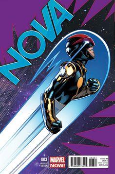 ROCKET RACCOON Trains Sam in Marvel's NOVA #3 Page 1