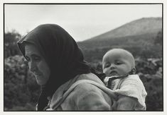 Grandmother and Grandchild, 1961/67 Constantine Manos Major Events, Magnum Photos, Grandchildren, Storytelling, Mothers, Lord, Couple Photos, Photography, Couple Shots